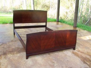 Antique Mahogany Beds Full Size Elegant & Classy photo