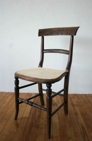 Antique Victorian Chair Rosewood Dining Bedroom Occasional photo