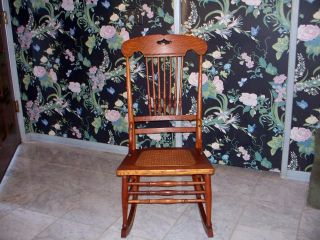 Small Antique Rocking Chair - 100 Years Old photo