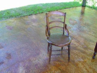 Antique Victorian Side/parlor Chair Walnut Elegant photo
