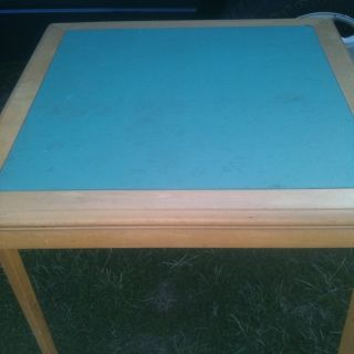 Vintage Folding Card Table,  4 Matching Chairs,  Retro,  L@@k photo