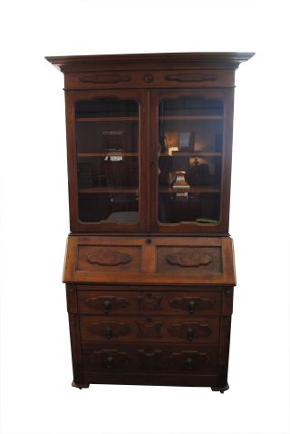 Antique Secretary Chest photo