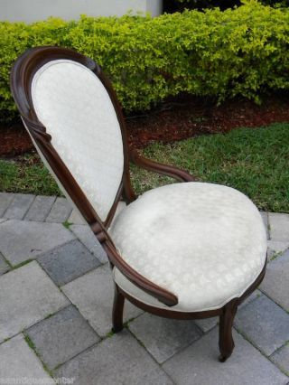 Victorian Solid Walnut Side Chair 001 photo