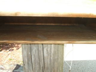Vintage School Desk,  Tops Only 50 ' S W/ink Well photo