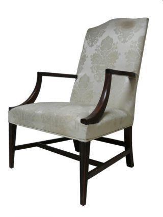 Georgian Chippendale Styl Antique Arm Chair Fabulous photo