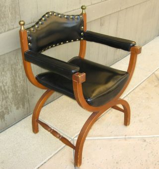 Vintage Savonarola X Chair Dante Sitting Chair photo
