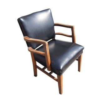 Mid Century Modern Traditional Lounge Arm Chair photo