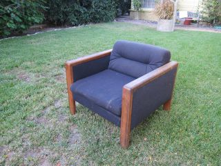 Pair Of Retro Scandiline Lounge Chairs photo