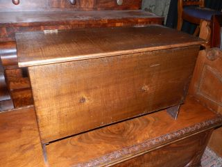 Adorable Little Antique Country Blanket Box