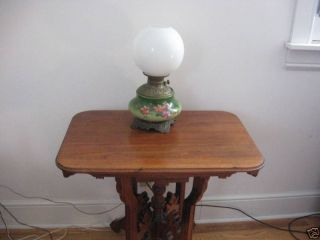 Antique Victorian Walnut Carved Table photo