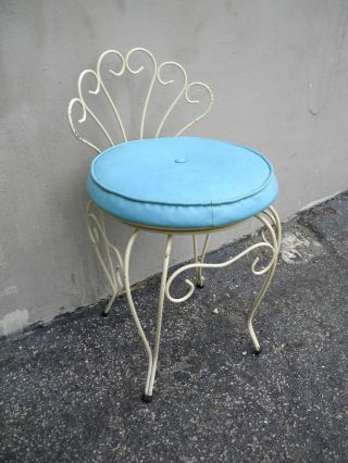 Mid - Century Swivel Vanity Chair By George Koch Sons 1588 photo