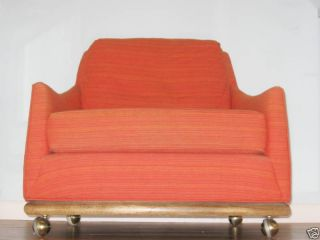 Mid Century Martinsville Side Club Lounge Chair photo