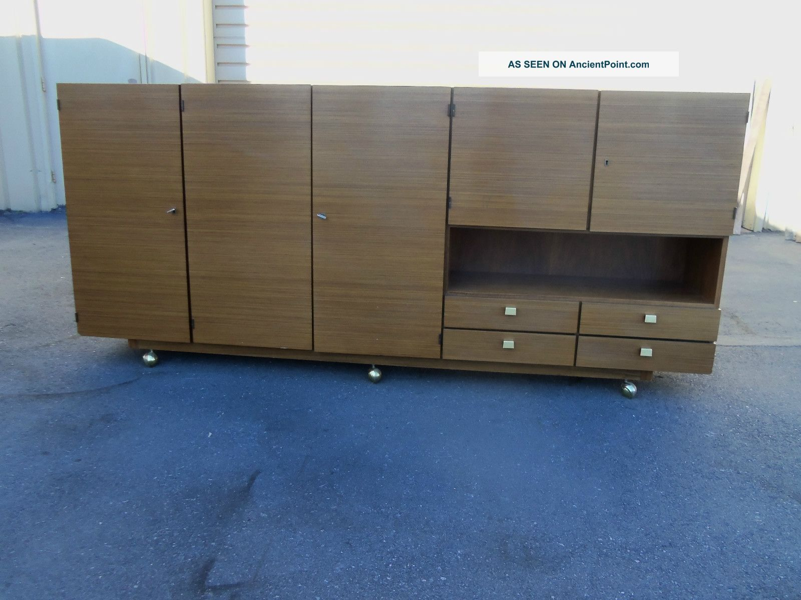 49590 Mid Century Modern Buffet Server Sideboard Post-1950 photo
