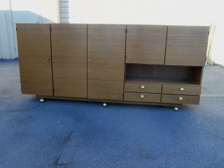 49590 Mid Century Modern Buffet Server Sideboard photo