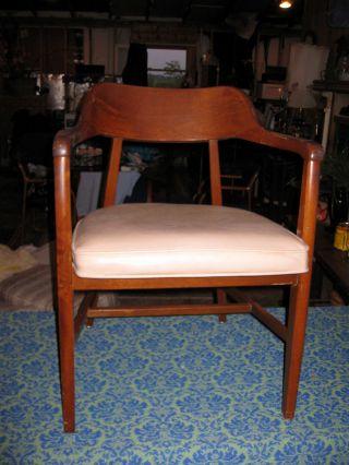 Danish Modern Jasper Arm Chair. .  1967 photo