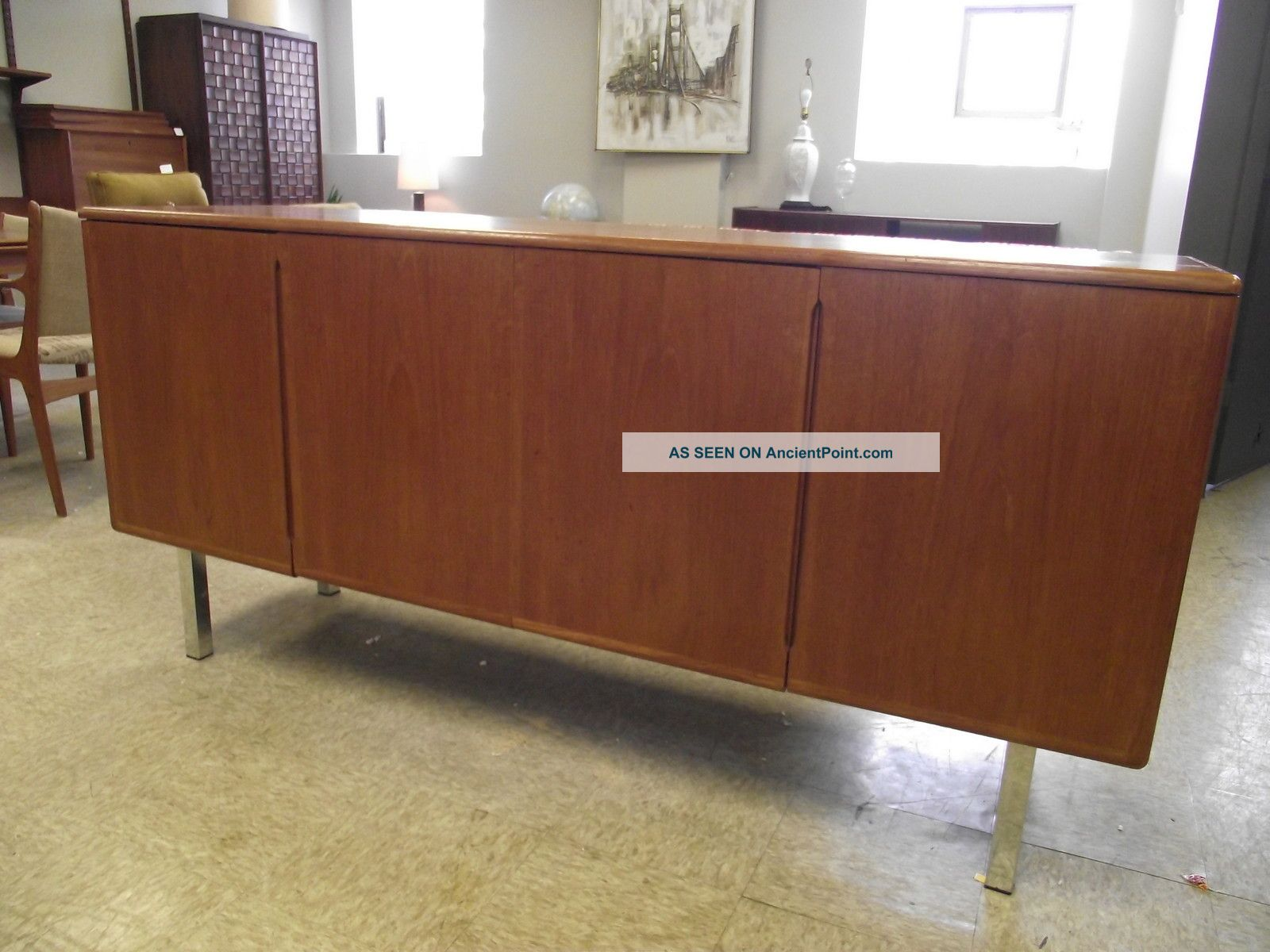 Vintage Danish Modern Teak Credenza Post-1950 photo