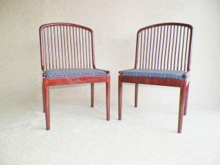 Danish Modern,  Pair Of Stendig Davis Allen Andover Beech Chairs,  High Quality photo