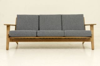 Oak Sofa By Hans Wegner photo