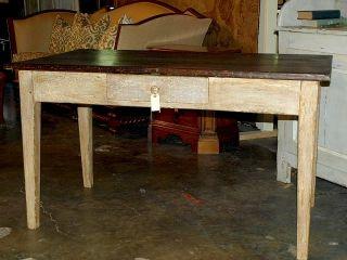 French Antique Farm Table,  Circa 1850 Eb - T1754 photo