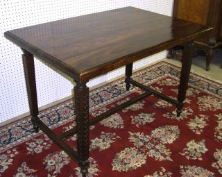 Antique Style Country French Table Solid Hardwood Top 4 Ft X 2 Ft 10