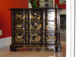 Drexl Heritage Chinoiserie Vintage Chest photo