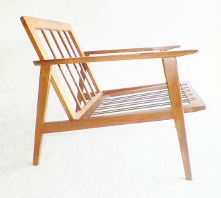 Danish Modern,  Mid Century Lounge Chair,  Eames,  Wegner,  Milo Baughman Early Style photo