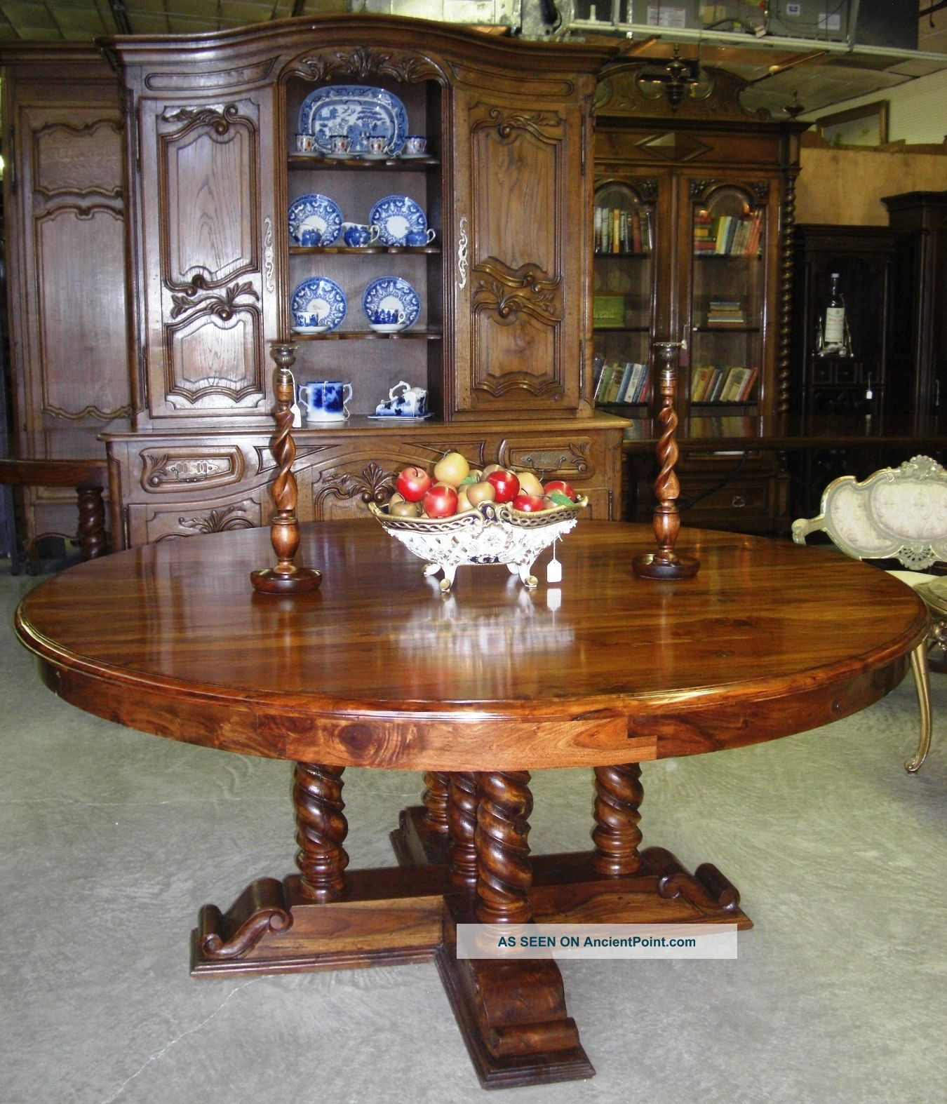 antique oak round dining table best dining table ideas