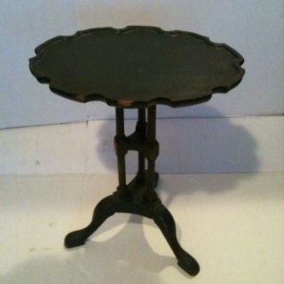 Antique Painted Solid Wood Stand / Side Sever photo