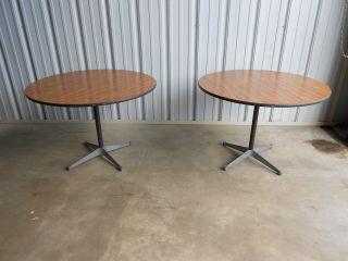 2 Matching Herman Miller Tables 42