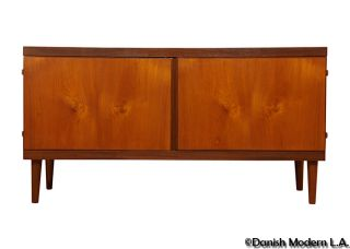 Danish Teak Credenza By Hans Olsen Eames Era photo