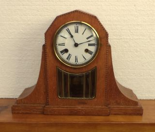 Old Germany Mantel Clock Kienzle 1920 photo