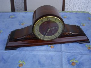 Antique Cerman - Gustav Becker - Mantel Clock At 1930 photo