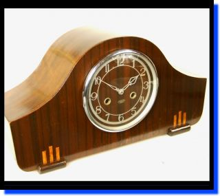 Stunning Enfield Art Deco Mantle Clock - Serviced & In Vg Working Cond. photo