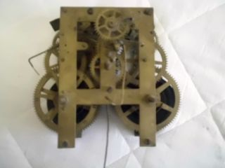 Antique And Collectors Clock Mechanism Waterbury Clock Co 1874 photo