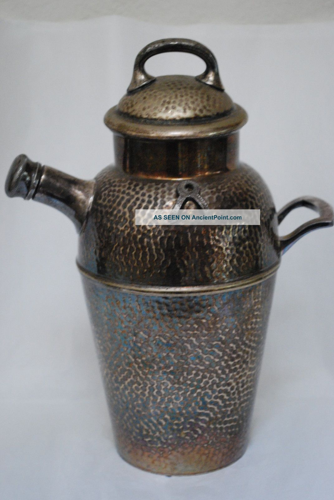 Antique Dowd - Rodgers.  Co Wallingford.  Ct Nickle Silver E.  P.  Coffee,  Wine,  Teapot Metalware photo