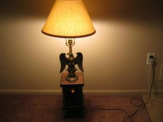 Antique Table Lamp photo