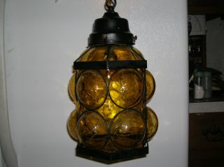 Antique Hanging Lamp Collectible, photo