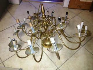 Brass Chandelier photo