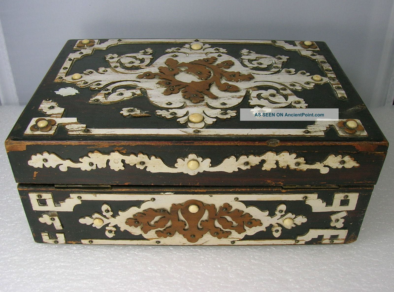 pictures of antique jewelry boxes images