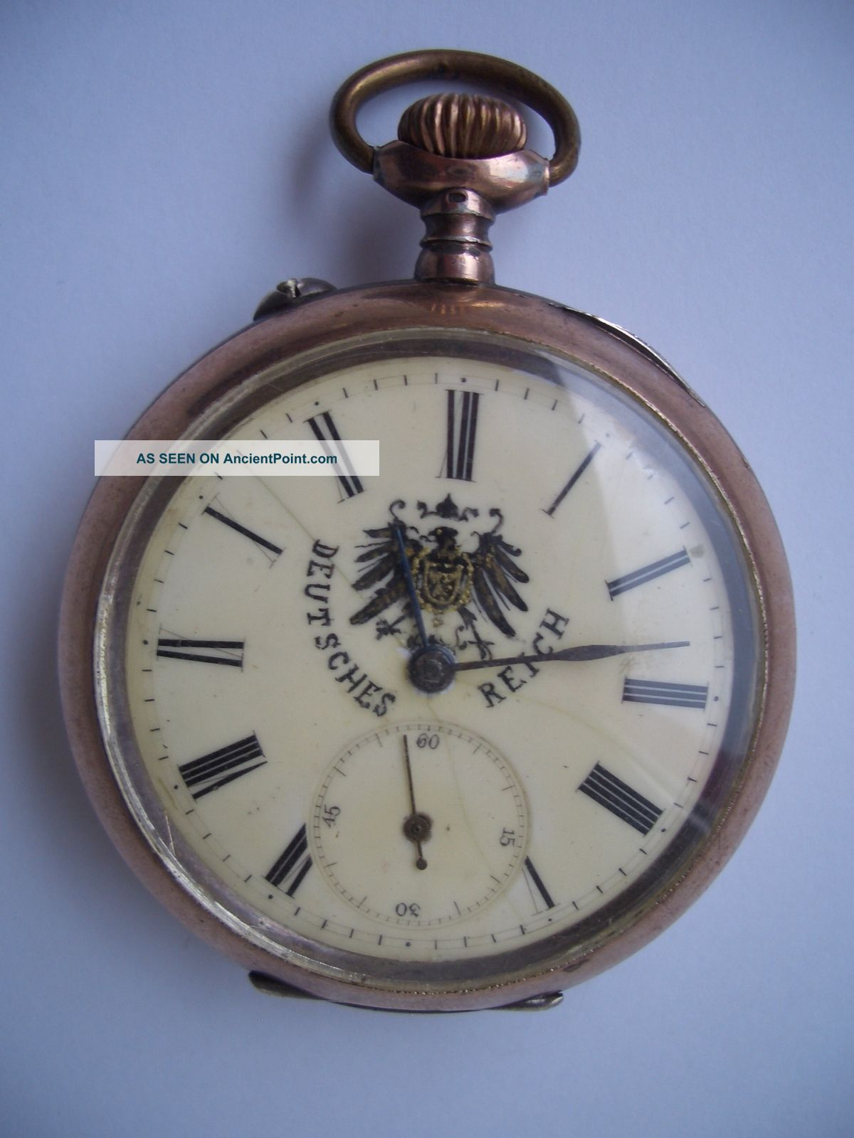 Presentation Pocket Watch Of German Kaiser Wilhelm Ii Taschenuhr Kaiser Wilhelm Clocks photo