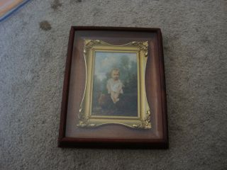 Antique French Oil Painting 19 Th Early 20 Th Board.  Frame Good For Kpm Plaque photo