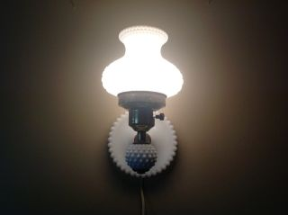 Early 40 ' S Fenton Wall Lamp photo