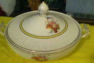 England China Carlton Shape Soup Tureen Mid Century,  Vintage Bengal photo