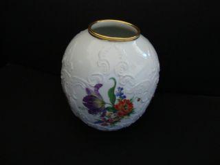 Antique Kpm Germany Porcelain Vase photo