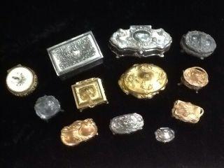 12 Antique Jewelry Boxes photo