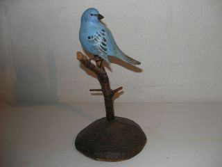 A Carved Bird Dated 1971 photo