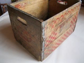 Vintage Hood Fresh Eggs Wood Crate photo