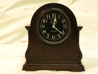 Antique American Waltham 8 Day Movement In Factory Made Parlor Case Clock 1ms photo