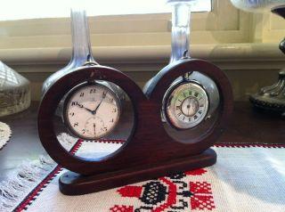 Antique Watch Stand Cedar photo