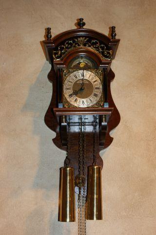 Zaanse Dutch Wall Clock With Lunar Phase photo